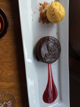 Bistrotters : And this chocolate piece of heaven wow words can't describe how good this is