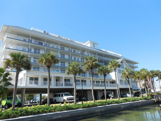 Exterior of the Dockside Condos