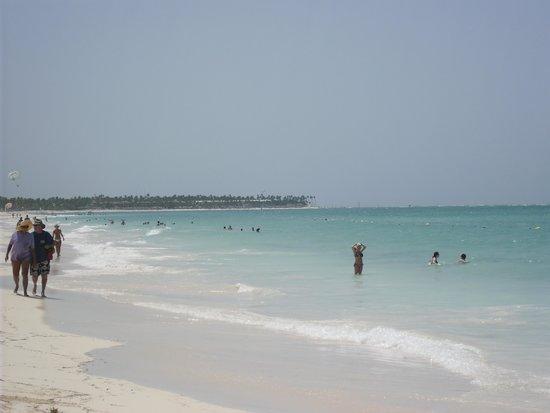 Grand Palladium Bavaro Suites Resort & Spa: the beach