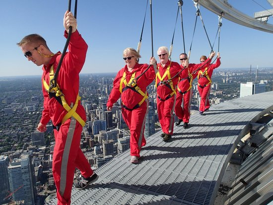 Edge Walk at the CN Tower: On the Edge