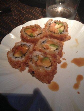 Restaurante Zenart: Maki tempura