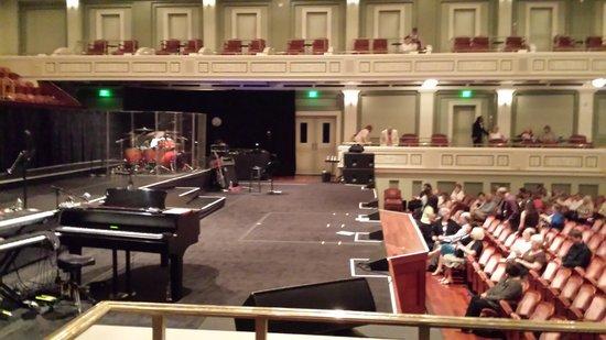 Schermerhorn Symphony Center: Before the show