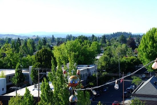 McMenamins Hotel Oregon: View from the roof terrace
