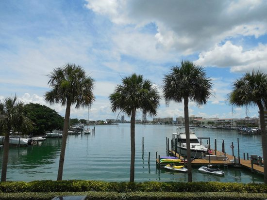 Dockside Condos : Incredible Clearwater Bay view from the balconies