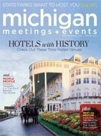 The Grand Hotel Luncheon Buffet: Your historic hotel for your next meeting or convention.