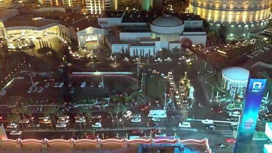 Flamingo Las Vegas Hotel & Casino: View from our room at night