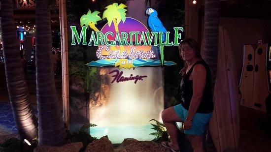 Flamingo Las Vegas Hotel & Casino: Margaritaville is downstairs