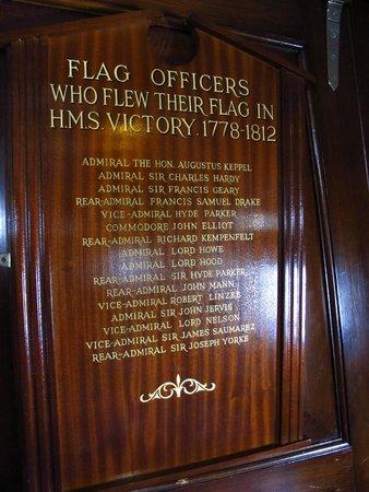 Portsmouth Historic Dockyard: Aboard HMS Victory