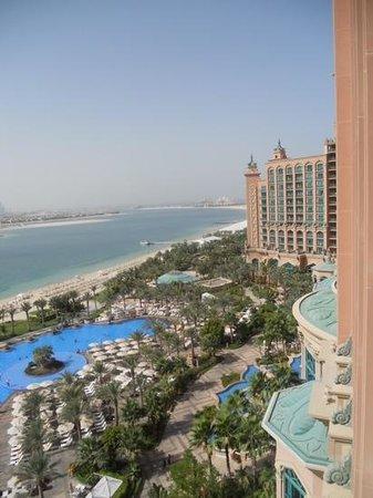 Atlantis, The Palm : vue depuis le 9ème étage