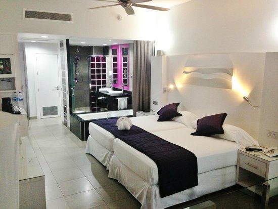 Hotel Riu Palace Mexico: Interior of room