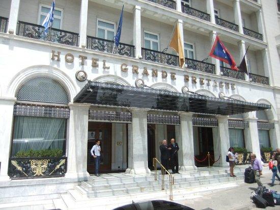 Hotel Grande Bretagne, a Luxury Collection Hotel, Athens: Convenient location