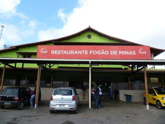 Frente Do Restaurante Picture Of Fogao De Minas E