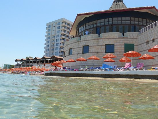 Salamis Bay Conti: Hotel from the sea