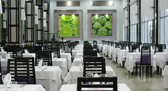 Hotel Riu Palace Mexico : Don Julian Dinning area