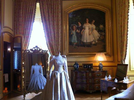 Château de Cheverny : Dans le chateau