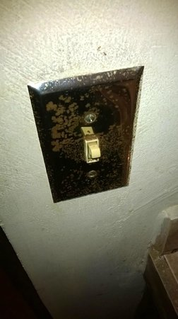 Hotel Inca Real : rotten lightswitch