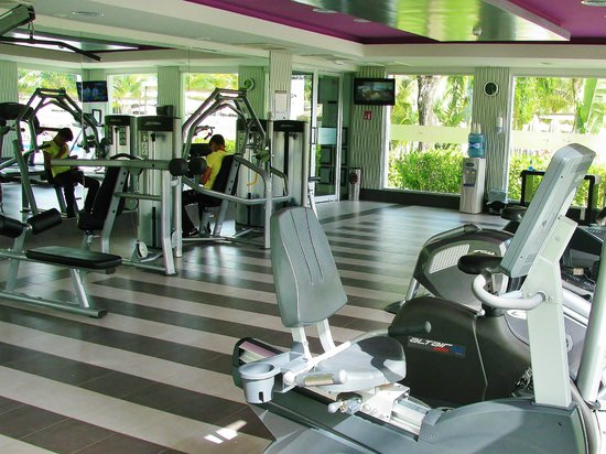 Hotel Riu Palace Mexico: brand new gym
