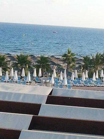 Paloma Oceana Resort: vue du restaurant turque