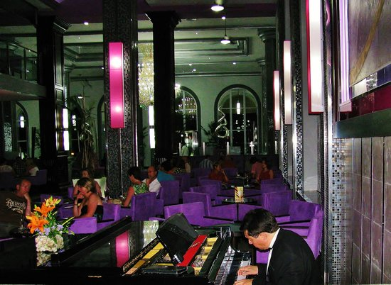 Hotel Riu Palace Mexico : Bar/lounge