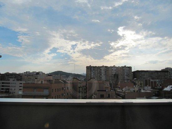 Hotel Laumon: panorama dal terrazzino