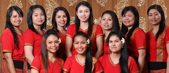 Spirit Thai Massage: Group photo all