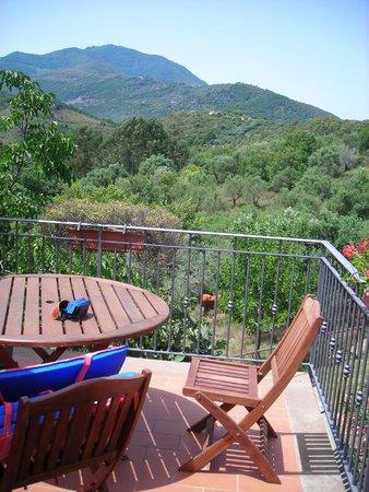 Agriturismo I Moresani: Vista dal nostro stupendo terrazzo