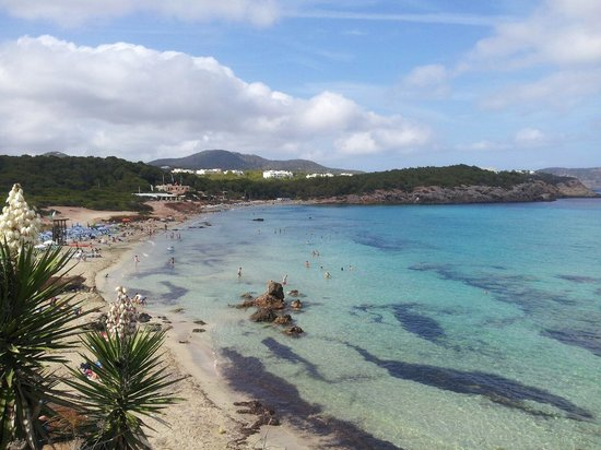 Fiesta Hotel Cala Nova: View from the pool
