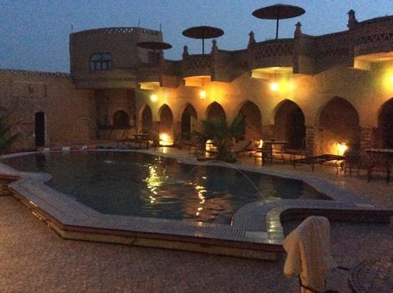 Riad Mamouche: Binnenplaats