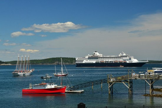 At Your Service Private Tours: our ship in harbor
