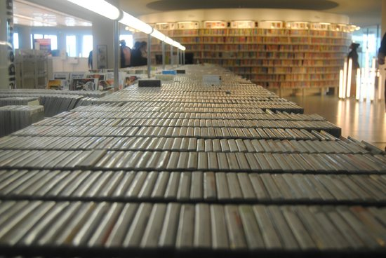 Bibliothèque centrale (Openbare Bibliotheek) : Maravilloso material