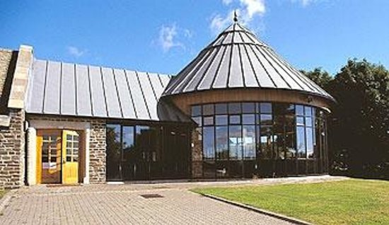 Llancaiach Fawr: Visitor centre/conference room/banqueting hall not affected by refurb.