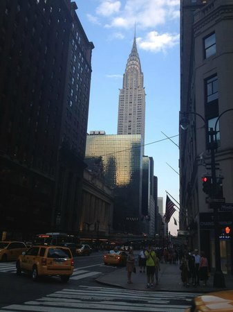 Grand Hyatt New York: uitzicht