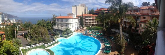 Pestana Miramar: view from our balcony