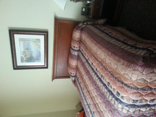 Branson Towers Hotel: Bed