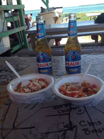 Joe's Conch Shack : Best Conch Salad I have ever had.