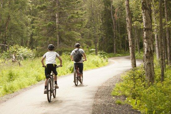 Pablo Bicycle Rentals: biking in nature!