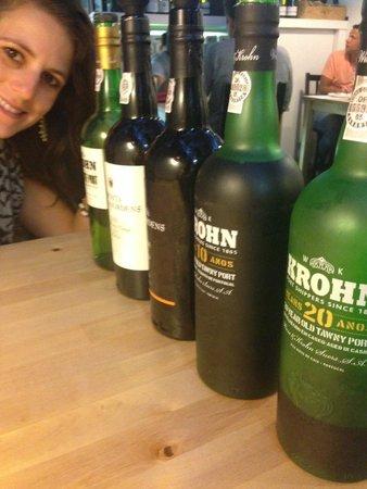 BA Wine Bar do Bairro Alto: Port flight