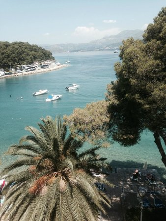 Hotel Cavtat: View from room 308