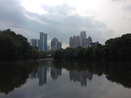 Piedmont Park: The view from the park