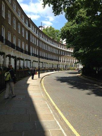 Studios2Let Serviced Apartments - Cartwright Gardens: vecindario