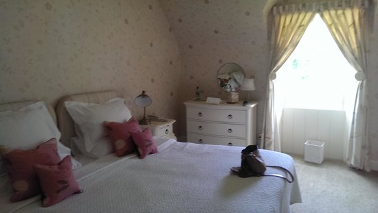 Knockinaam Lodge: Bedroom