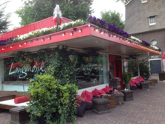 Bar Langendijk: Cafe at the windmill