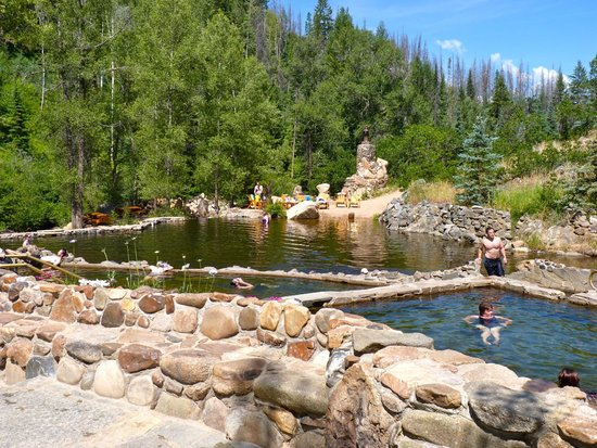 Strawberry Park Hot Springs: Beautiful landscape