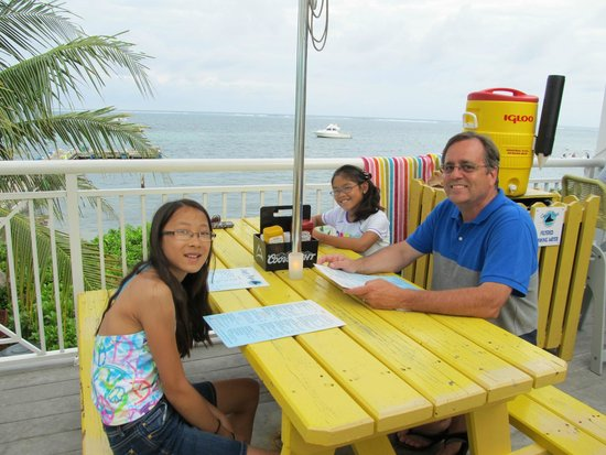 Eagle Ray's Bar & Grill: The view