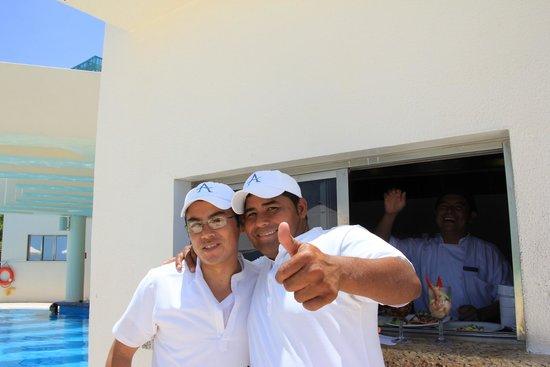 Live Aqua Beach Resort Cancun : Amigos