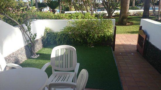 Parque Santiago Villas: our garden
