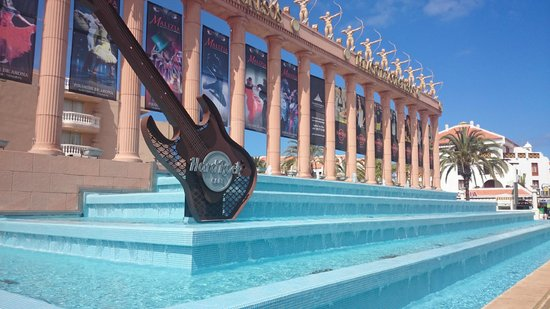 Parque Santiago Villas: Hard Rock Cafe