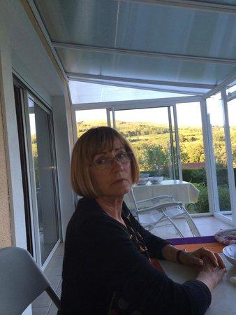 Антуньяк, Франция: LA MADONE VEILLE AU GRAIN