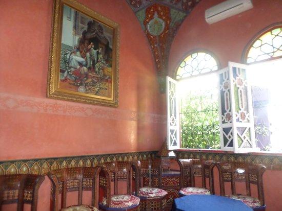 Moroccan House Hotel : hotel reception area