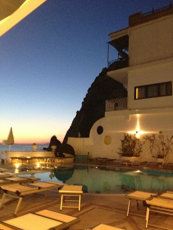 Mar Hotel Alimuri: View from dinner